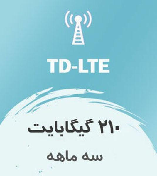 تصویر از اینترنت ثابت TD-LTE، سه ماهه 210 گیگ با سرعت ۱ تا ۴۰ مگ